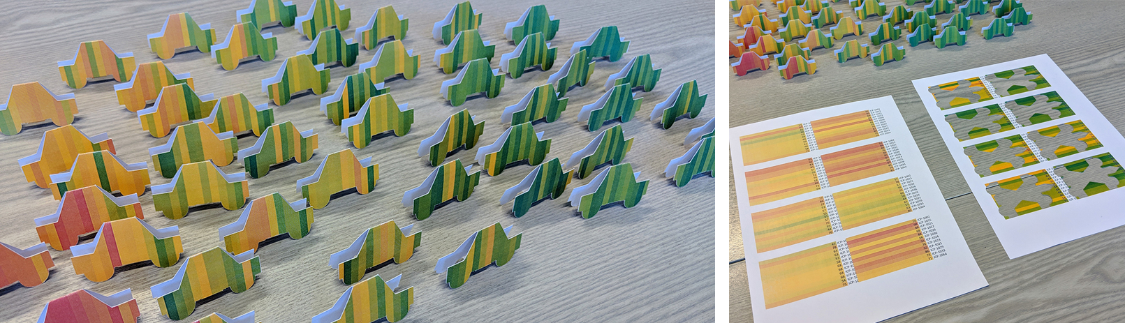 Teaser for Tangible papercraft visualisations for education